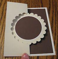 Half-Cut Technique: Scallop Circle