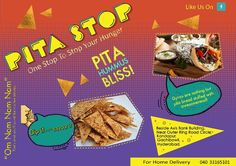 Have you guys ordered your food from pita stop..?? What's the hold up? Call us now for home deliveries.