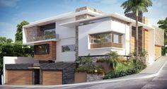 Fotos de Casas de estilo Moderno : RESIDENCIA SINALOA