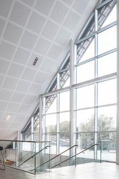 Gallery of Mariehøj Cultural Centre / Sophus Søbye Arkitekter + WE Architecture - 42 Concept Architecture, Architecture Photo, Green Landscape, Cultural Center, Copenhagen, Centre, Building, Interior, House