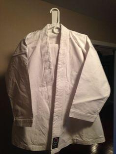 ProForce 12 oz. Extra Heavyweight Uniform - White (Traditional Drawstring) #ProForce