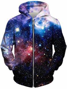 Beloved - Lush Galaxy Unisex Zip-Up Hoodie