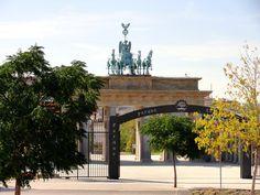 Parque de Europa. Comunidad de Madrid