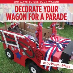 instructions on how to build a parade float