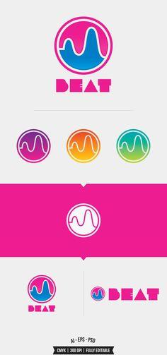 Beat Logo Template on Behance