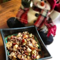 Paleo stuffing - remember folks, stuffing isn't just for Christmas :)