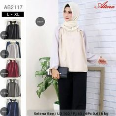 Grosir Baju Atasan AB2117 - Grosir Baju Muslim Termurah 4740ed2230