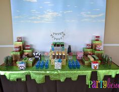 "Minecraft Birthday Party / Birthday ""{Minecraft Birthday}"" 