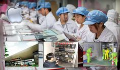 Apple is the best of the worst at Chinese workers labor conditions.