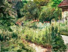 Max Liebermann - Der Nutzgarten in Wannsee nach Nordwesten