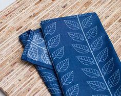 EcoFriendly Large Cloth Napkins Set of 4 N1035 by JAQSstudio