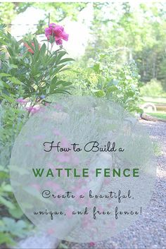 Homestead Blog Hop 6 Homesteads Gardens and Wattle fence