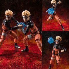 S.H. Figuarts Uzumaki Naruto Set of 2 Anime Action Figure Bandai Japan