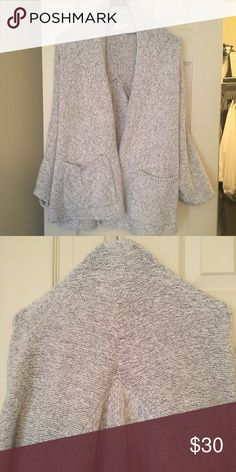 Lou + Grey Sweater Open cardigan in super soft knit! From this season, only worn a few times. Lou & Grey Sweaters