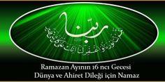 Ramazan Ayının 16 ncı Gecesi Dünya ve Ahiret Dileği için Namaz Islam, Neon Signs