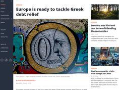 Η δημοφιλής online πλατφόρμα ενημέρωσης και πολιτικής ανάλυσης «EU Observer» φιλοξενεί άρθρο του Αντιπροέδρου του Ευρωπαϊκού Κοινοβουλίου και επικεφαλής της Ευρωομάδας του ΣΥΡΙΖΑ, Δημήτρη Παπαδημού…