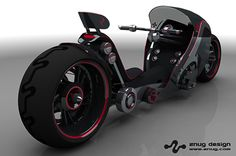 Recumbent Motorcycle at Znug Design