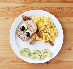 Healthy Breakfast For Kids, Healthy Meals For Kids, Kids Meals, Healthy Recipes, Cute Food, Good Food, Yummy Food, Baby Food Recipes, Cooking Recipes