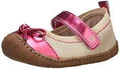 Stride Rite Crawl Charming Charlotte Crib Shoe (Infant/Toddler),Neutral/Pink,2 M US Infant Stride Rite http://www.amazon.com/dp/B00I4VPVR4/ref=cm_sw_r_pi_dp_PEdHub1AQY2WK