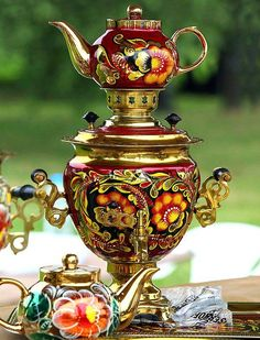 Beautiful Samovar…                                                                                                                                                                                 Plus