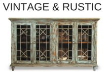 Vintage and rustic pieces are junk to some, but designer and stylish looks to others.