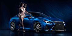 Elektryzująca reklama samochodu Lexus RC F