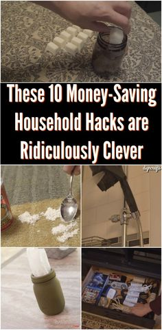These 10 Money-Saving Household Hacks are Ridiculously Clever {Video} It seems like life is a constant war against the forces of entropy. No sooner do you get one thing working than another breaks. Suddenly you find yourself needing to make another outlay of cash. Then there are all the little household items you have to buy even though you may not use them all the time.