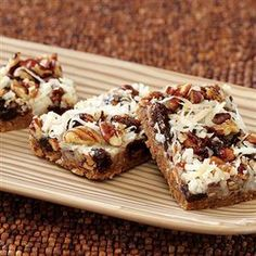 Fruit and Spice Magic Cookie Bars from Eagle Brand