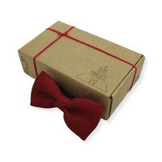 Gravata Borboleta Cashmere Vermelha – Dois Maridos – Gravatas Borboletas, Suspensórios e informações de moda.