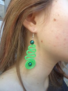 Frisky earrings by mamietco on Etsy, €5.00