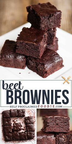 Beet Brownies are a decadent brown butter brownie recipe with a smooth buttermilk roasted beet puree mixed into the batter. The result is a lusciously soft brownie with an intense dark chocolate flavor. You'll enjoy the added health benefits of cooking with beets and will be pleasantly surprised with the flavor!