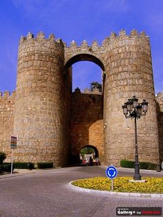 Main Gate into Avila, Spain