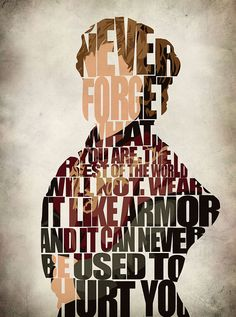 Wear it like armor - Tyrion Lannister #gameofthrones