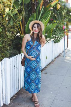 55 trendy maternity fashion (without blowing your budget) 30 Maternity Dresses Summer, Summer Maternity Fashion, Maternity Style, Maternity Outfits, Simple Dresses, Beautiful Dresses, Nice Dresses, Pregnancy Outfits, Pregnancy Style
