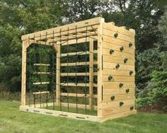 Image result for adult wooden outdoor gym