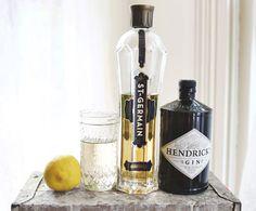 Lavender Citrus Martini Recipe abeautifulmess.com