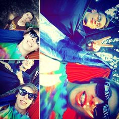 Hanging with friends #hammocklife by @ravebabesince93
