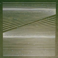 yama-bato:  Kleiva, Per (1933) Komposisjon 1974  Serigrafi, lysmål, 46x47 Signert og datert nede t.h.: Per Kleiva -74