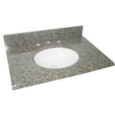 Pegasus PE25829 25-Inch Quadro Granite Vanity Top with White Bowl and 8-Inch Spread Pegasus,http://www.amazon.com/dp/B000SZJQ70/ref=cm_sw_r_pi_dp_p0jttb0AD5DD86JY