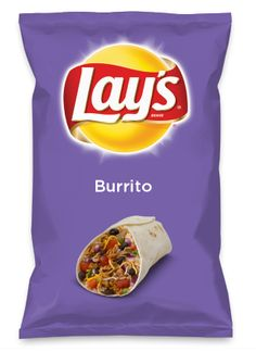 Wouldn't Burrito be yummy as a chip? Lay's Do Us A Flavor is back, and the search is on for the yummiest flavor idea. Create a flavor, choose a chip and you could win $1 million! https://www.dousaflavor.com See Rules.