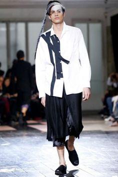 Yohji Yamamoto Menswear Spring Summer 2014 Paris