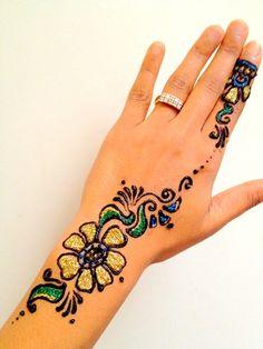 Glitter Tattoo. I want to be made of glitter