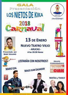 Grupo Mascarada Carnaval: Gala presentación Los Nietos de Kika 2018