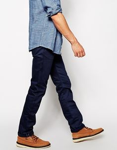 Enlarge Unbranded Jeans UB208 Slim Tapered Fit Selvedge Twill
