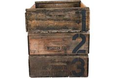 INSPIRATION: numbered crates
