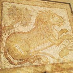 mosaic tiles...
