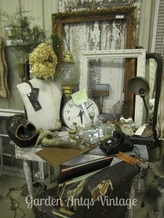 Antique Booth Display Ideas | Booth Ideas