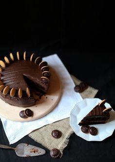 Chocolate Jaffa Cake :: www.scarletscorchdroppers.com