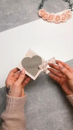 Diy Crafts For Gifts, Diy Home Crafts, Fun Crafts, Arts And Crafts, Christmas Crafts For Kids, Diy Christmas Gifts, Paper Crafts Origami, Dollar Tree Crafts, Craft Room Storage