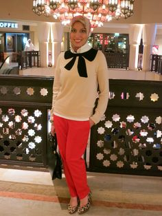 Ask Haute Hijab - How to Work Colored Jeans and Pants - Haute Hijab